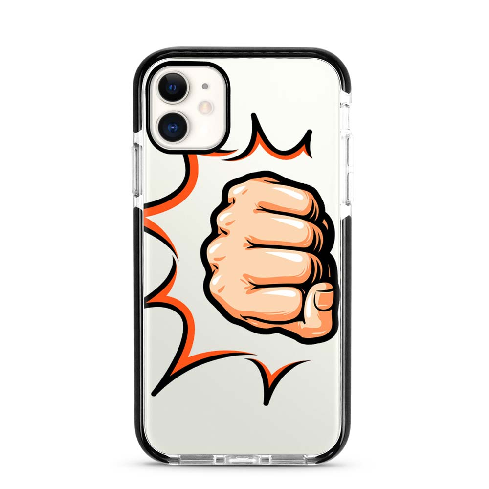 Capa de Smartphone Smart Talk Impact Apple iPhone 11 Punching Pop Art