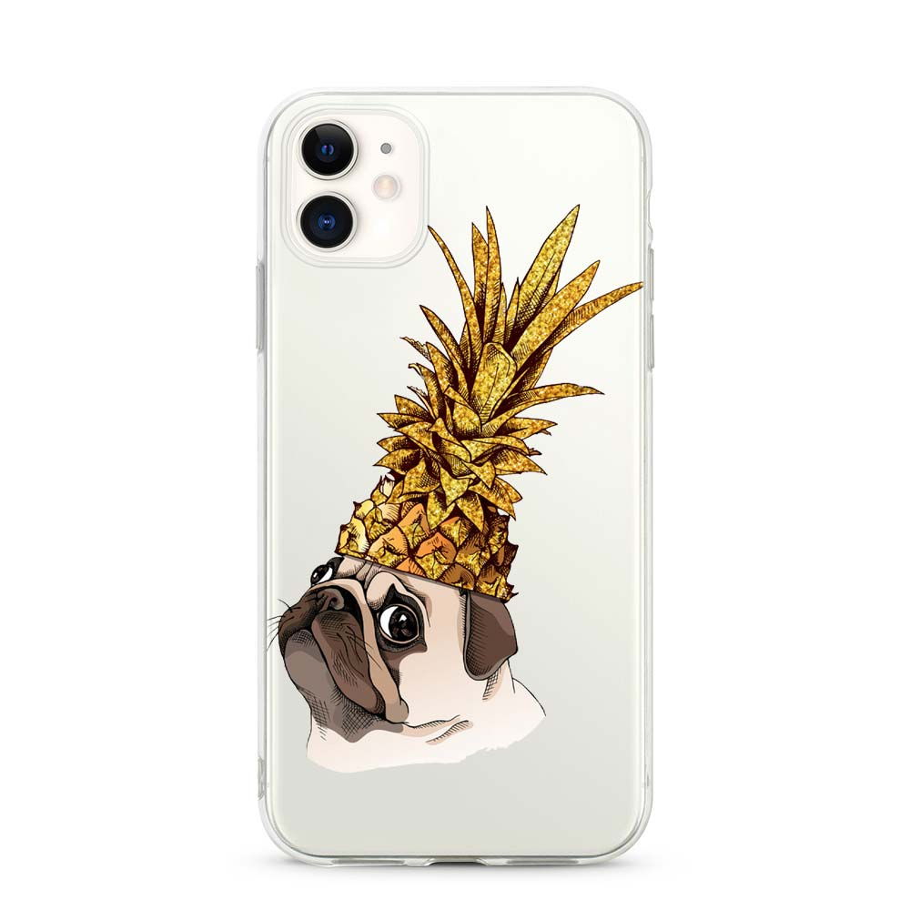 Capa de Smartphone Smart Talk Snap Huawei P Smart 2019 Pineapple Dog