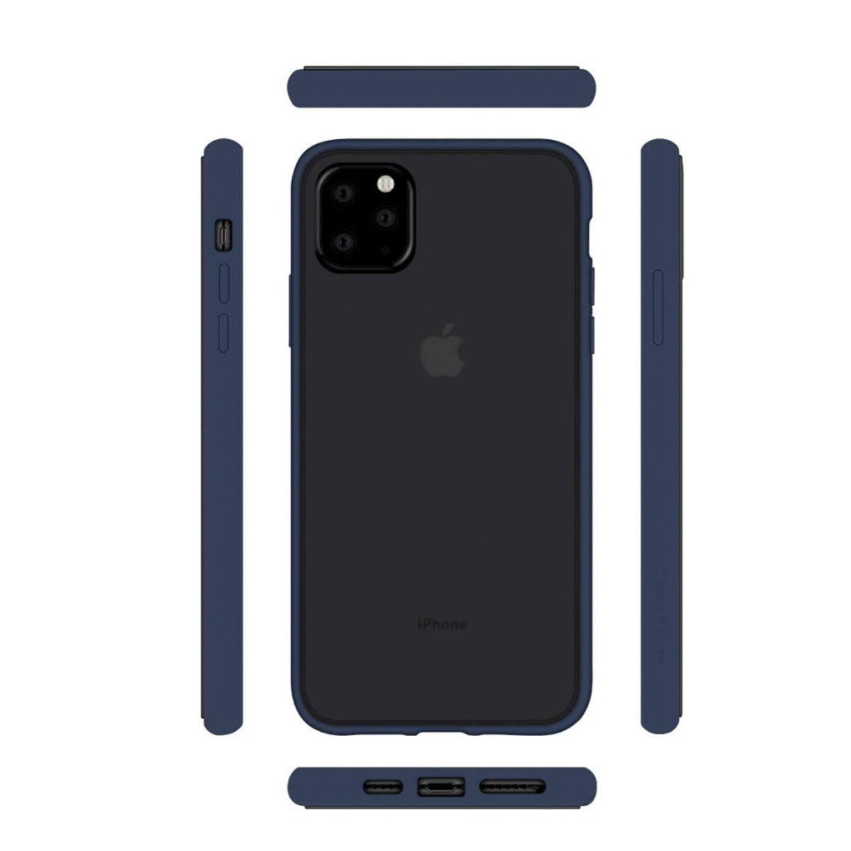 Capa de Smartphone Mercury Peach Garden Bumper Apple iPhone 11 Pro Azul
