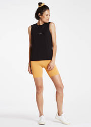 Ribbed Bike Short