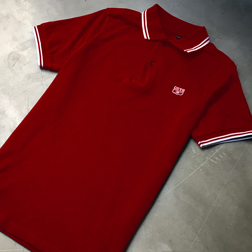 COYG Tipped Polo