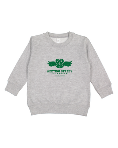 Crew Neck Sweatshirt Toddler Heather