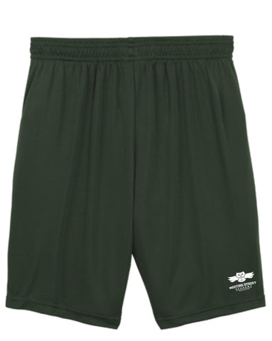 Dark Green Gym Shorts