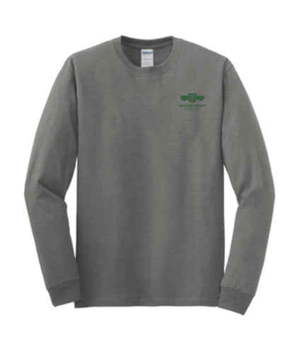 Sport Gray Long Sleeve T-Shirt
