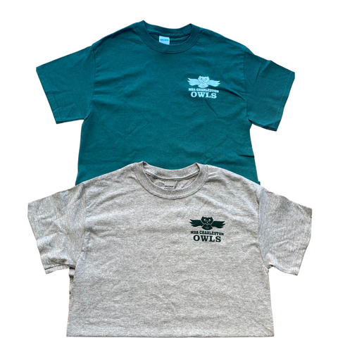 Short Sleeve T-Shirt Green or Grey