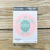 BHIC Pink Sea Turtle Sticker