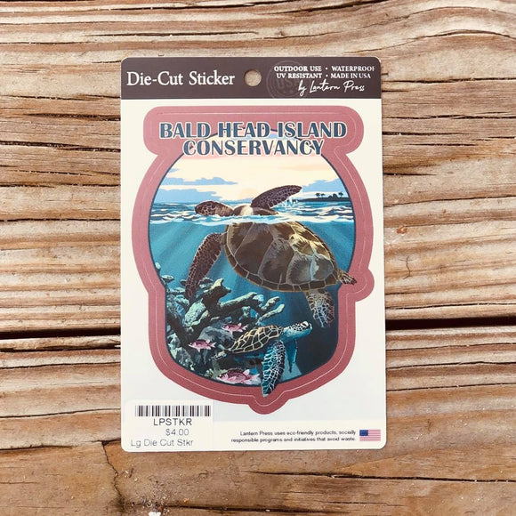 BHIC Sunset Sea Turtles Sticker