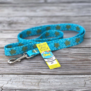 Swimming Sea Turtle Dog Leash
