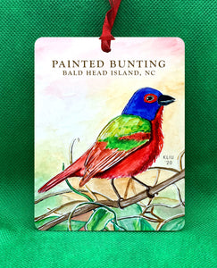 Painted Bunting Ornament