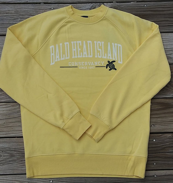 Bald Head Island Conservancy Crew Sweatshirt