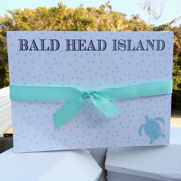 Bald Head Island Sea Turtle Notepad
