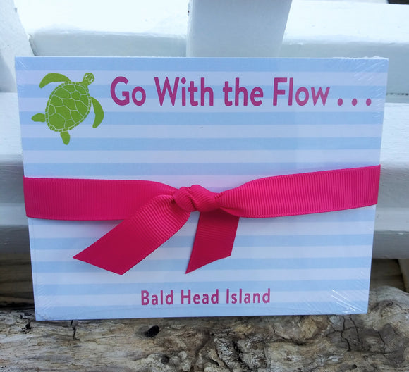 BHI Go With the Flow Notepad
