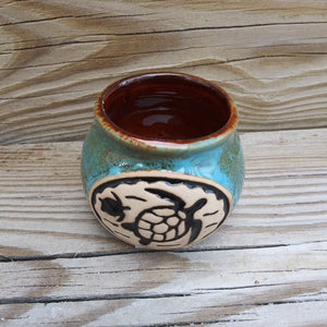 Mini Pottery Bean Pot