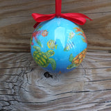 Sea Turtle Ball Ornament