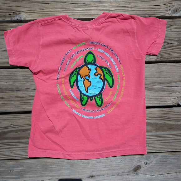 BHI Conservancy Earth Day Sea Turtle Youth Tee