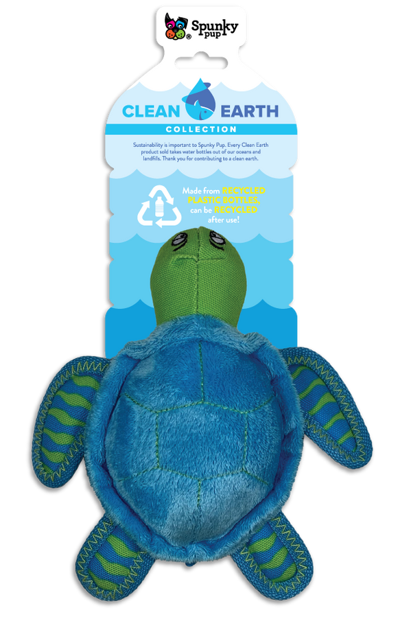 Spunky Pup Small Turtle Dog Toy
