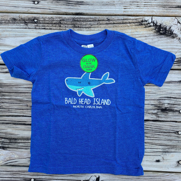 Glow in the Dark Toddler Shark Tee
