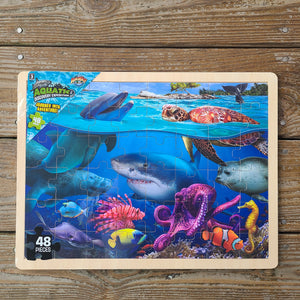 Aquatic Discovery Expedition Puzzle for Kids