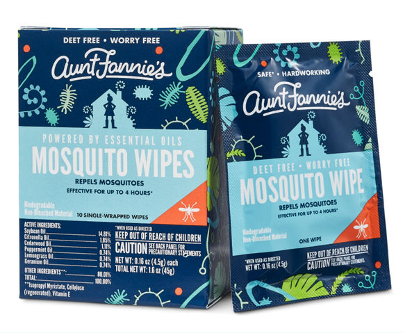 Aunt Fannie's - Mosquito Wipes