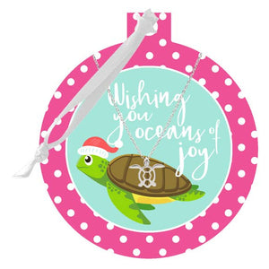 Sea Turtle Necklace & Sea Turtle Ornament
