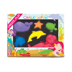 Magical Mermaids Chalk Critters