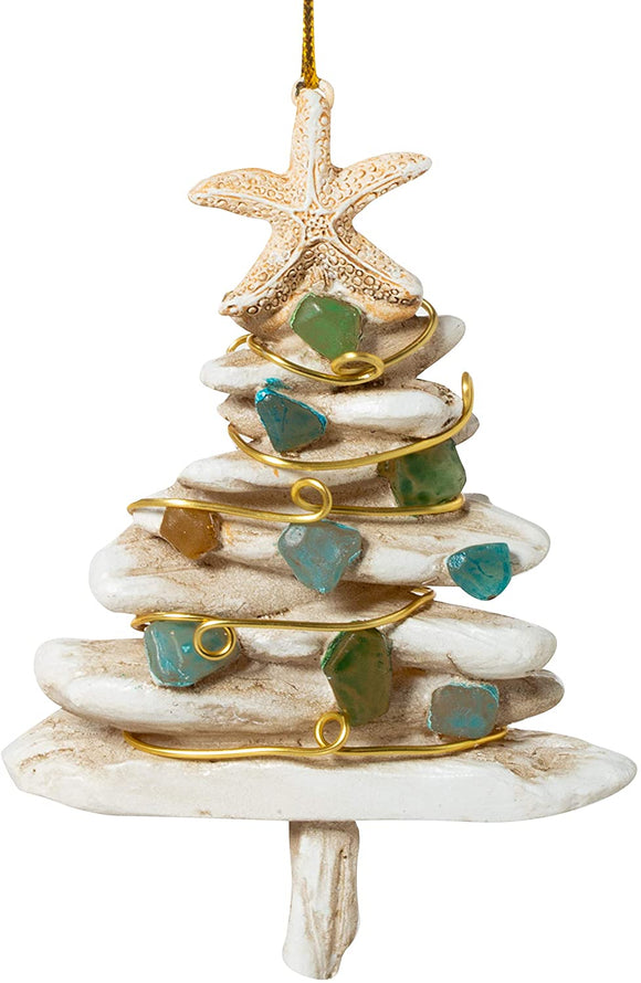 Cape Shore Driftwood Tree Ornament