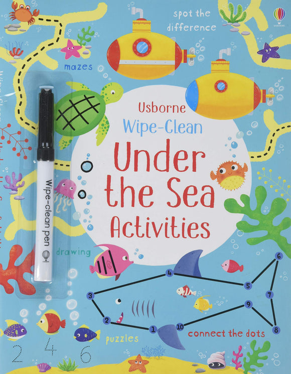 Under the Sea Drawing Activities Book