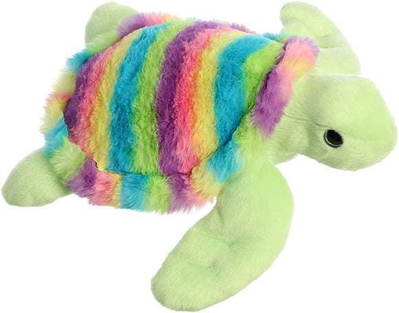 Rainbow Turtle Plush