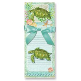 Sea Turtle Magnetic Memo Pads