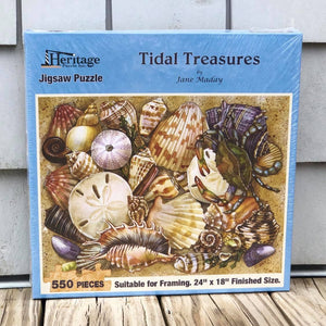 """Tidal Treasures"" by Jane Maday Puzzle"