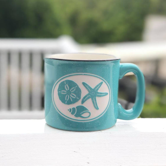 Seashells Camp Mug