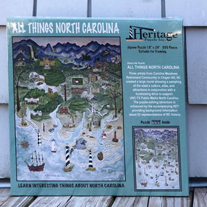 Heritage Puzzle All Things North Carolina Puzzle