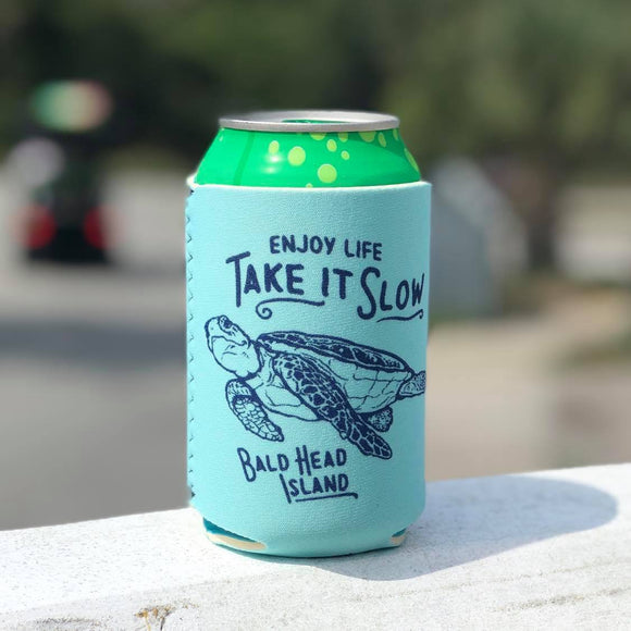 Enjoy Life, Take It Slow Turtle Can Coolie