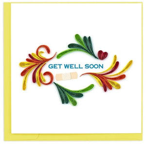Get Well Soon Quilling Card
