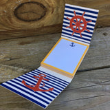BHI Nautical Matchbook Memo Pad