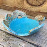 Small Pottery Turtle Dish