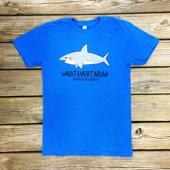 Whatevertarian Shark Tee