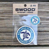 BHIC Wood Sticker