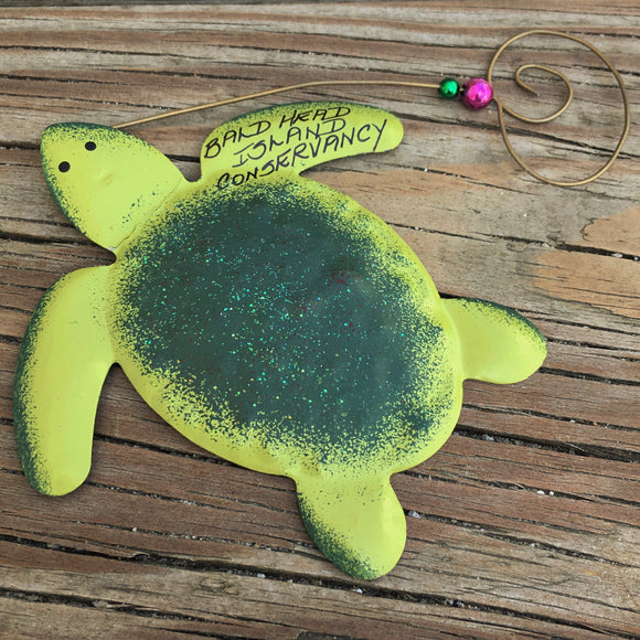 Metal Turtle Ornament