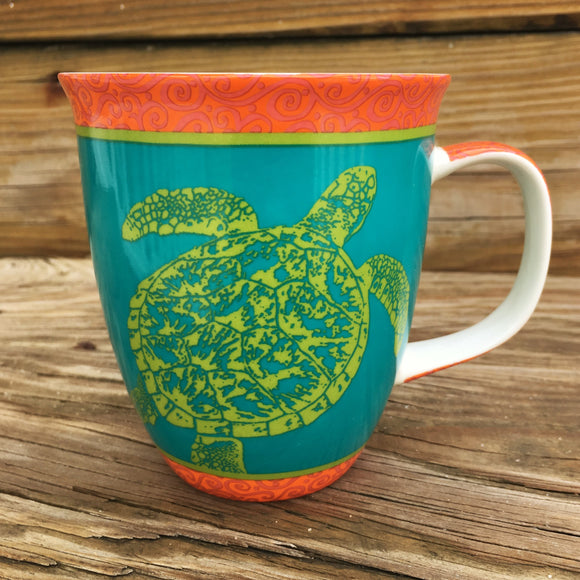 Harbor Mug Bright Turtle