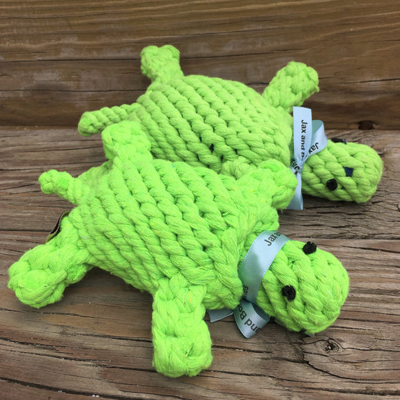 Small Turtle Rope Toy
