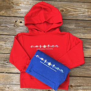 Sea Creatures Youth Hoodie