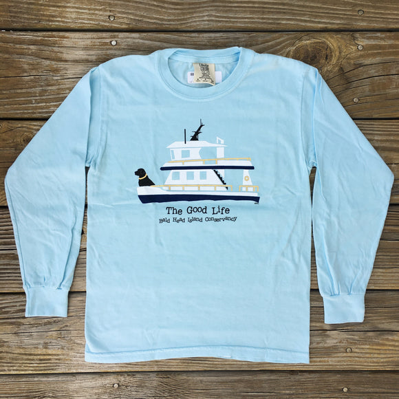 Long Sleeve Youth Ferry Tee
