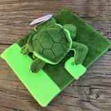 Plush Turtle Notebook