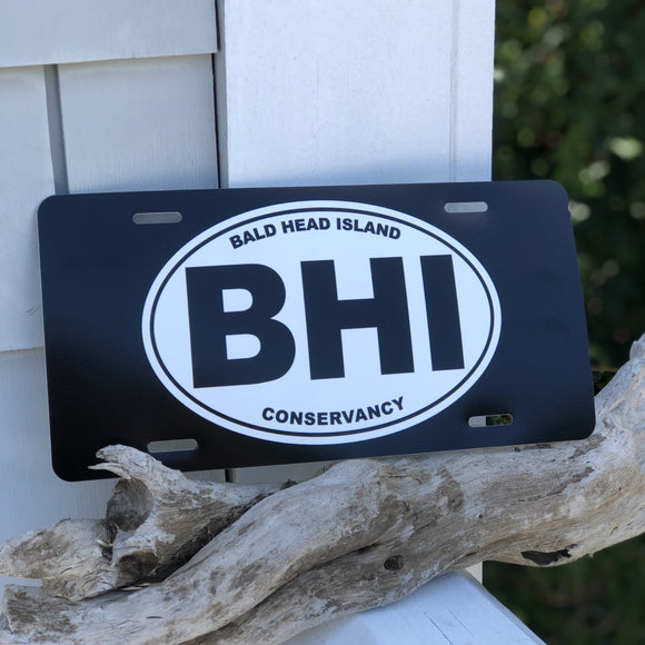 BHI Conservancy  License Plate