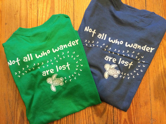 Not All Who Wander LS Tee