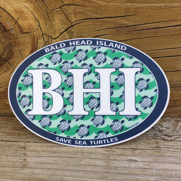 BHI Sticker - Save Sea Turtles