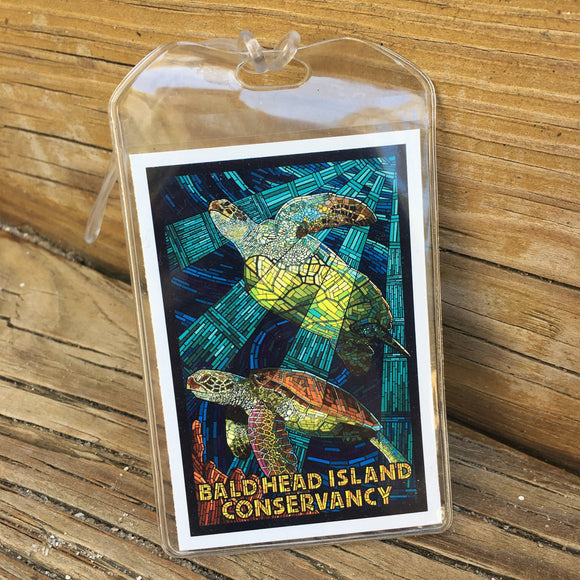 Sea Turtle Luggage Tag