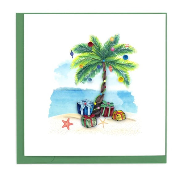 Tropical Holiday Quilling Card