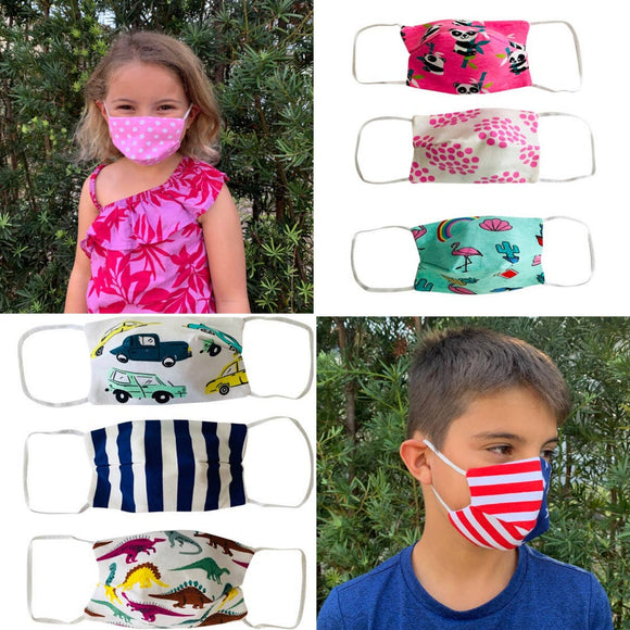 Kids Cotton Face Masks